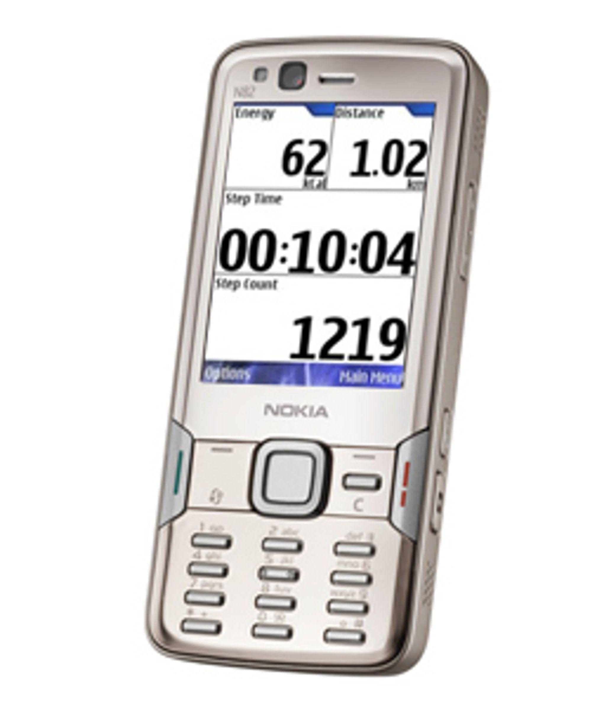 N82 kan brukes som skritteller.