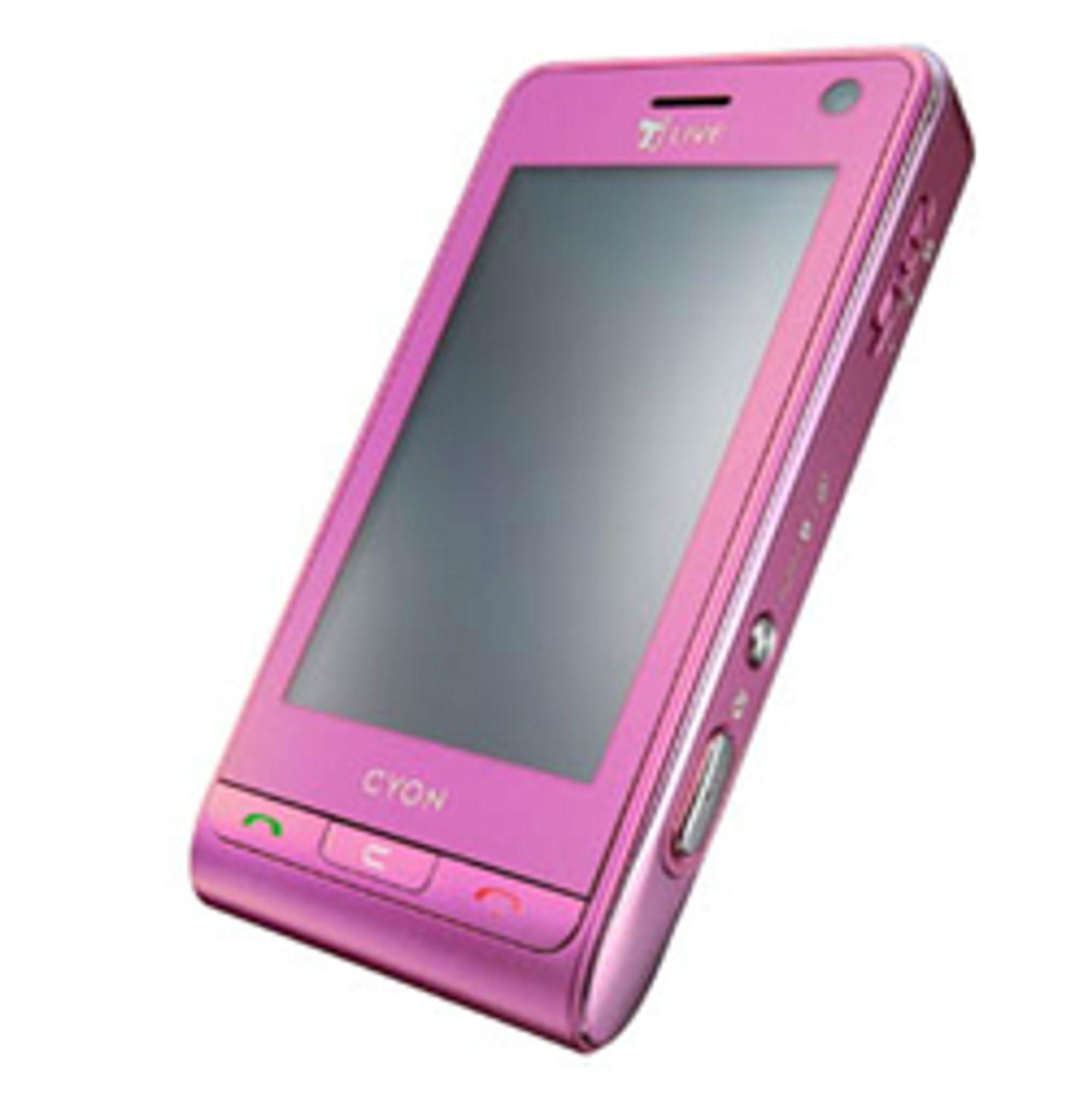 Nå kommer LGs suksessmodell KU990 i rosa.