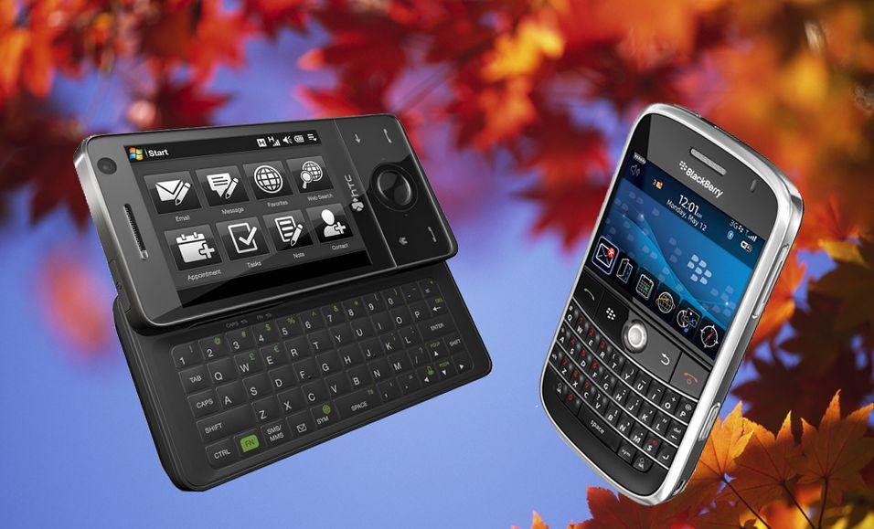 Touch Pro og Blackberry Bold kommer i september.