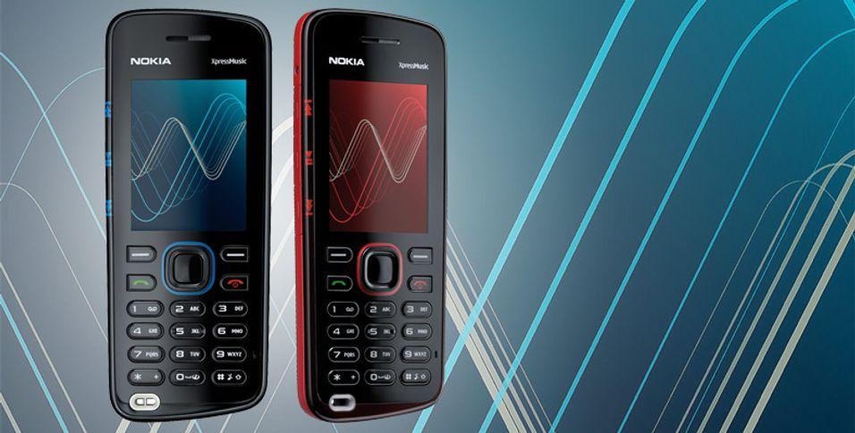 Nokia 5220 Xpressmusic i butikkene