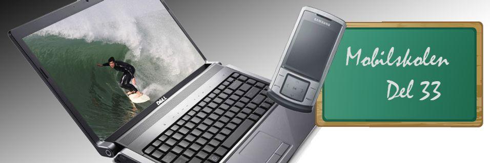 GUIDE: Kom deg på nett med mobilen