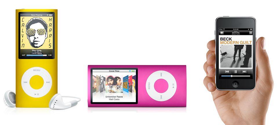 Ny Ipod Nano og Ipod Touch er lansert.