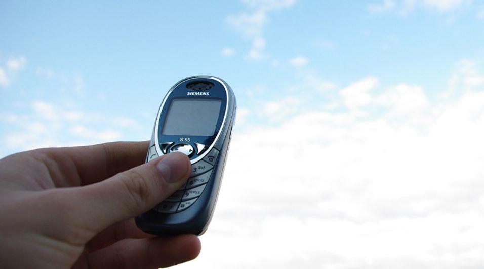Siemens S55 var en himmels mobil for proffbrukeren