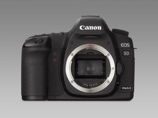 Canon EOS 5D Mark II byttes snart ut - men når?