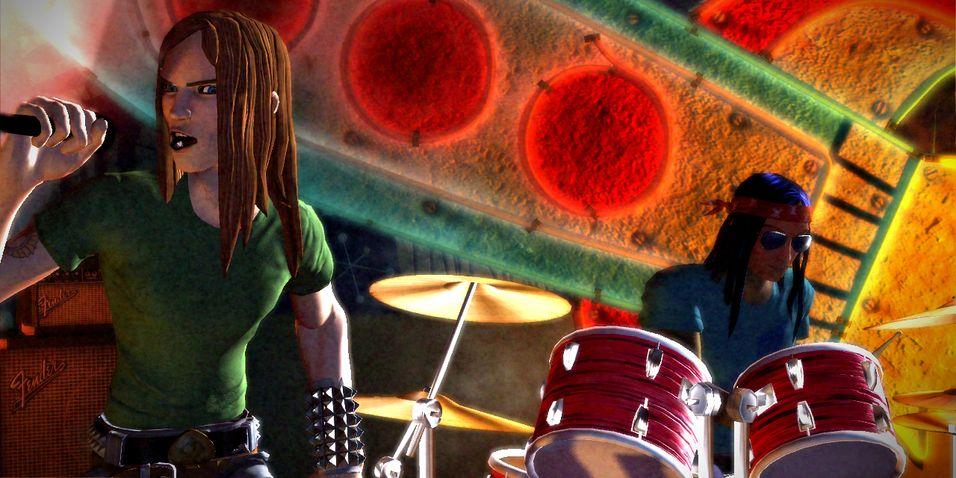 Rock Band lanseres i smug