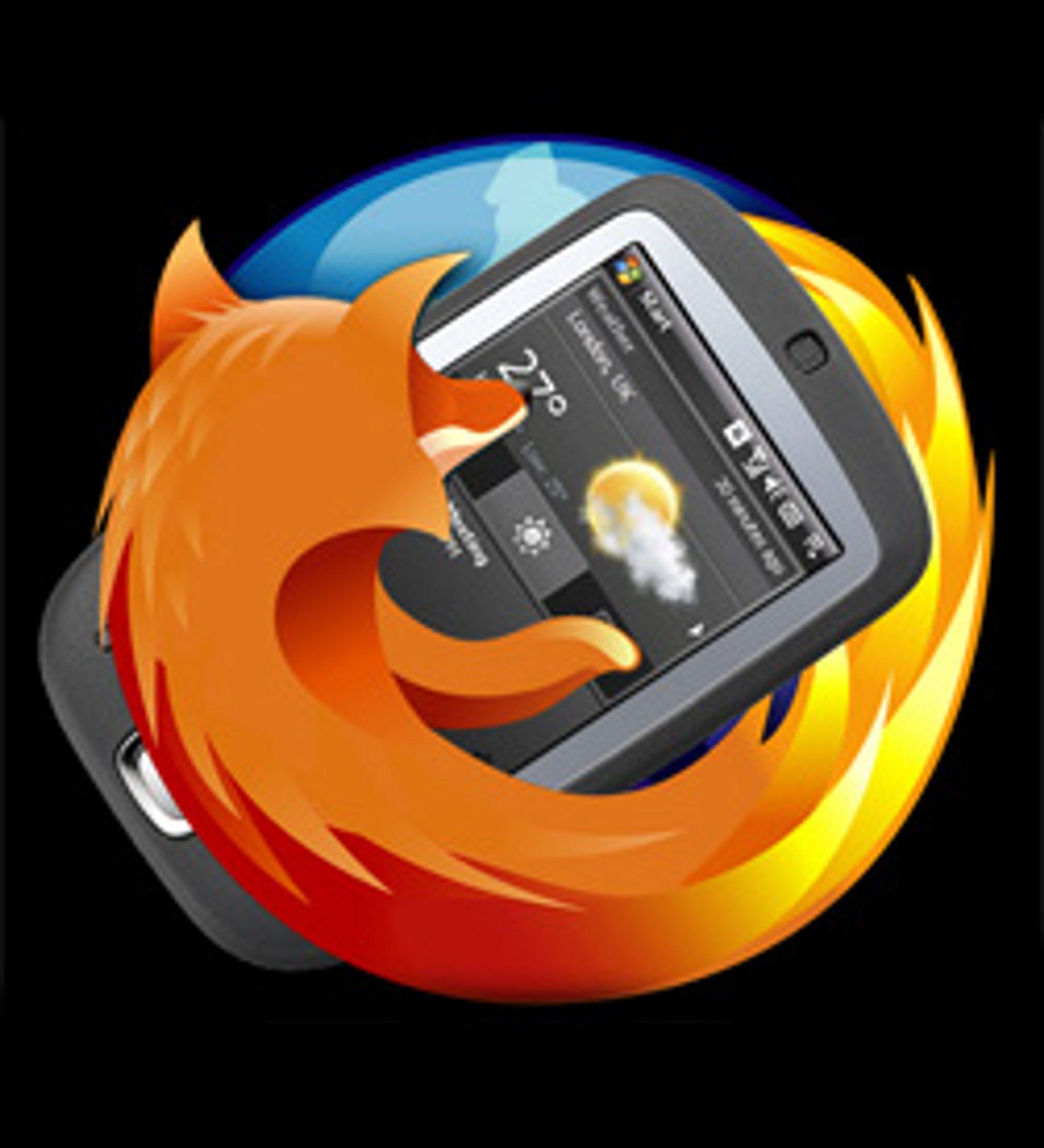Mobil Firefox er på vei. (Illustrasjon: Marius Valle)