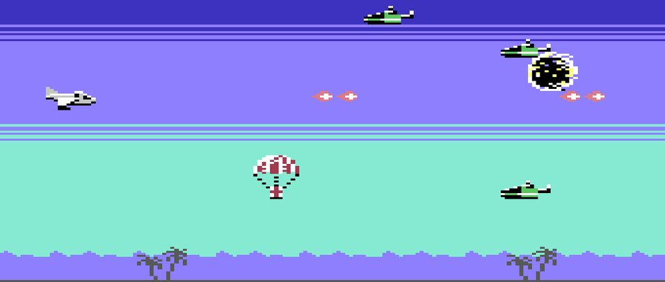 Skyteaction til Commodore 64