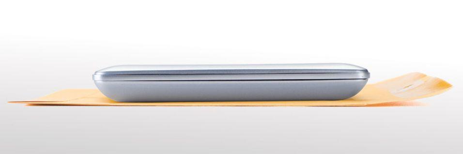 Macbook Air-harddisk fra Iomega