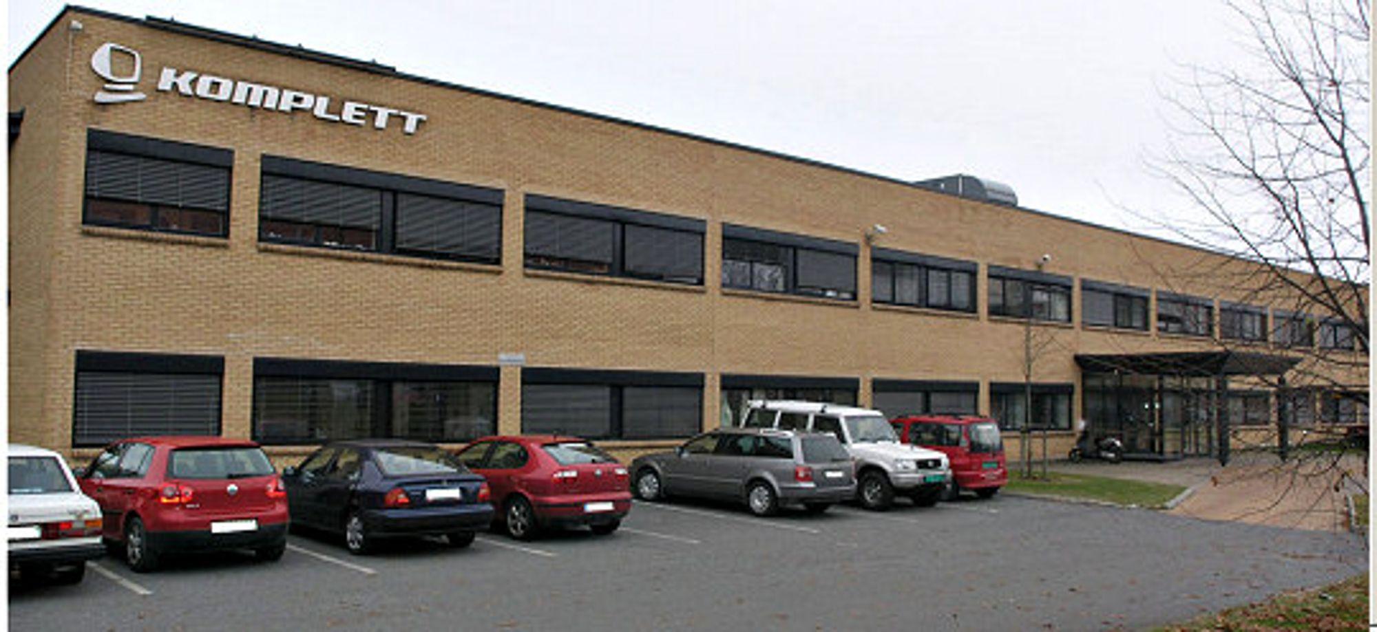 Får færre ansatte: Kompletts hovedkontor utenfor Sandefjord
