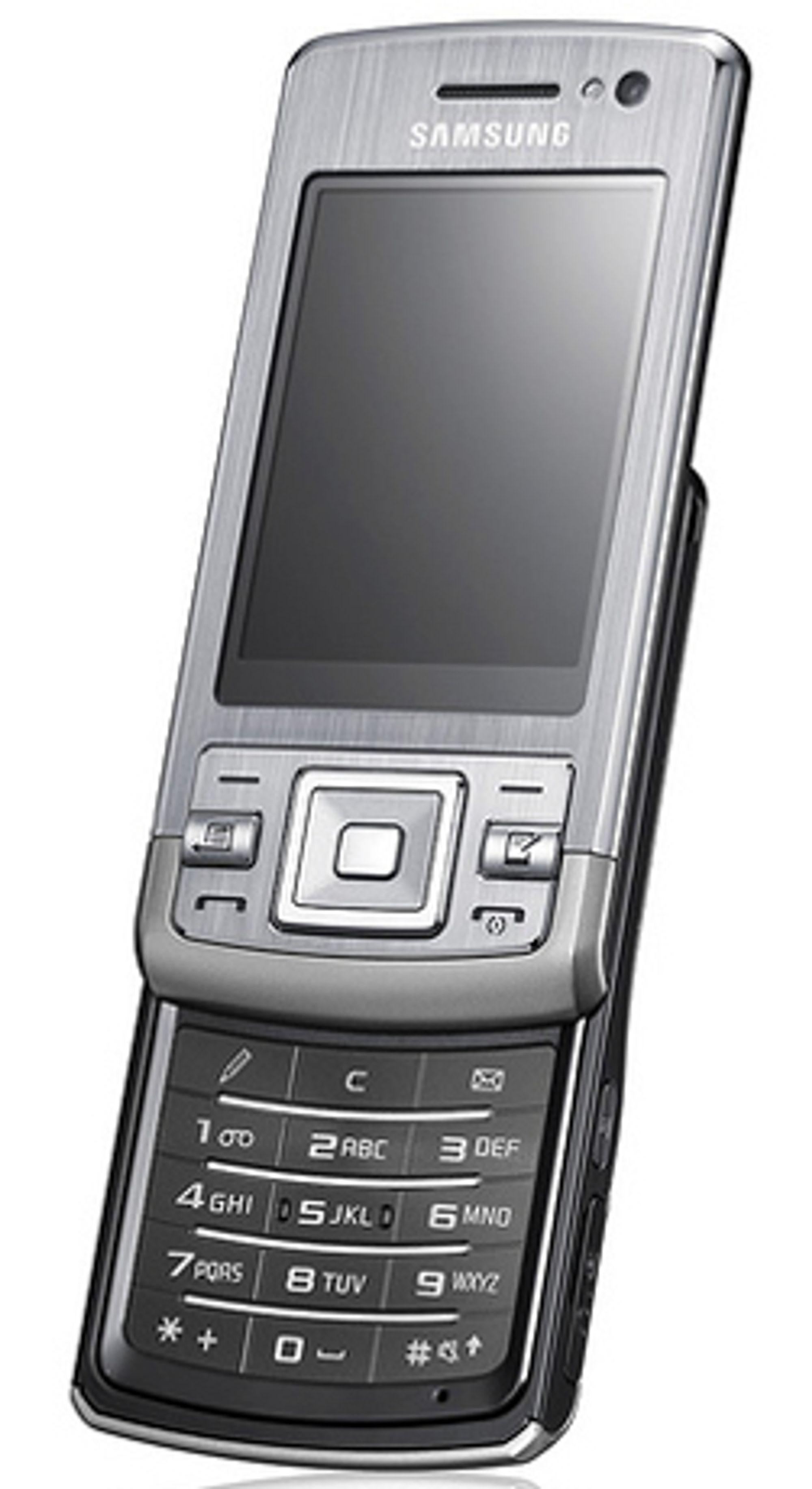 Samsung L870 er en smarttelefon.