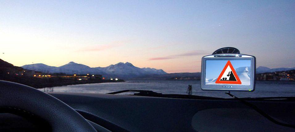 Nå skal GPS-en si ifra om hvor og når det er rasfare.