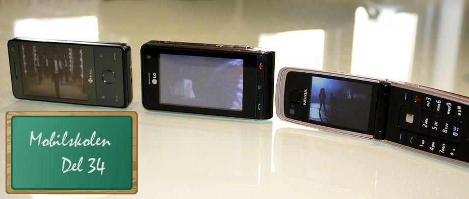 Slik ser du film på mobilen