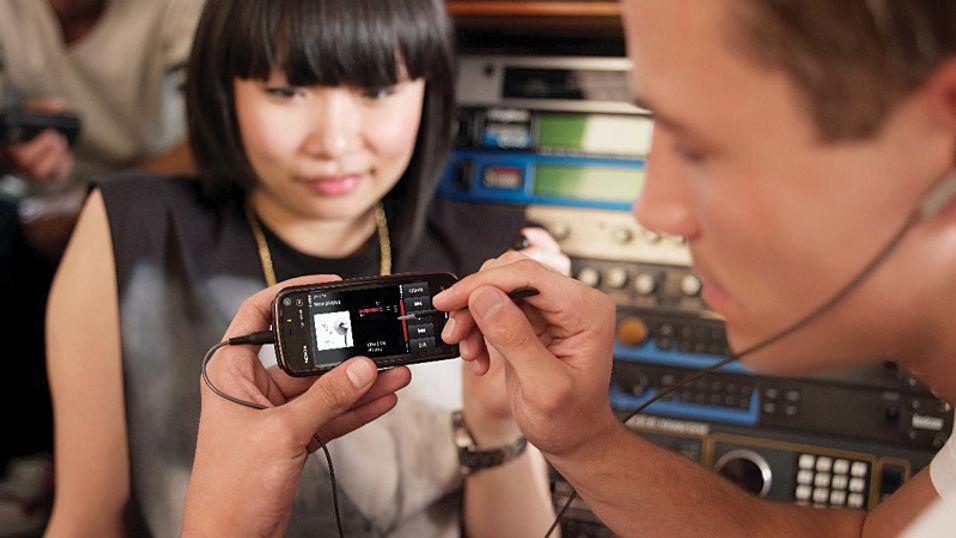 Nokia 5800: Får gode skussmål i den første testen.