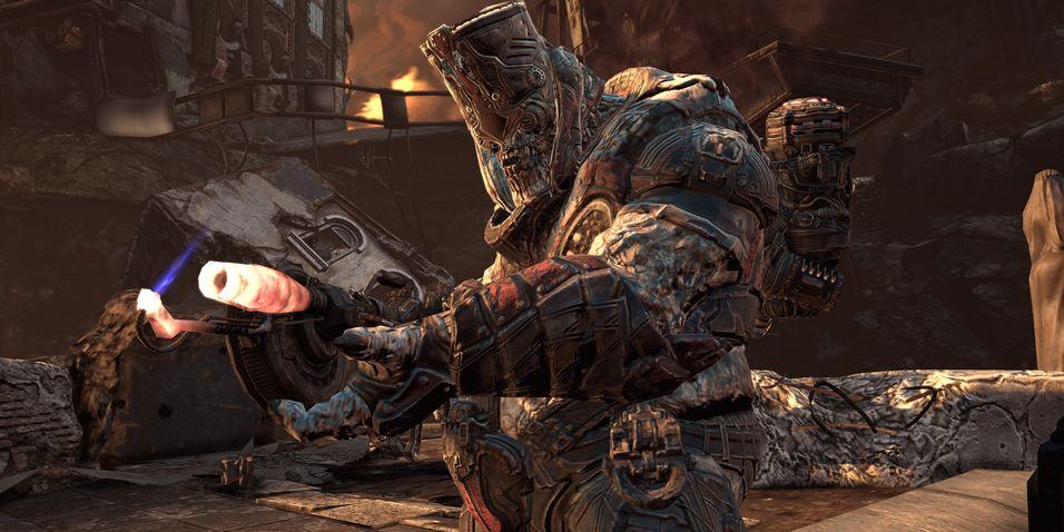 Gears of War 2 er ferdigutviklet