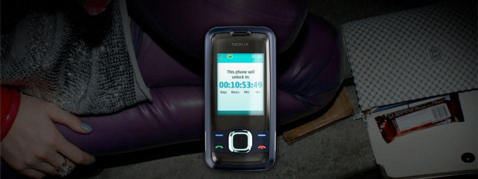 Utklipp fra Nokias mystiske nettside.