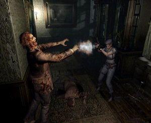 Resident Evil på GameCube gjorde noen forandringer.