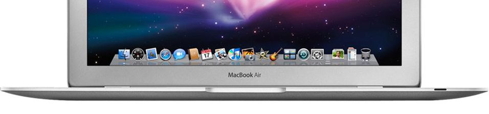 Macbook Air oppgradert