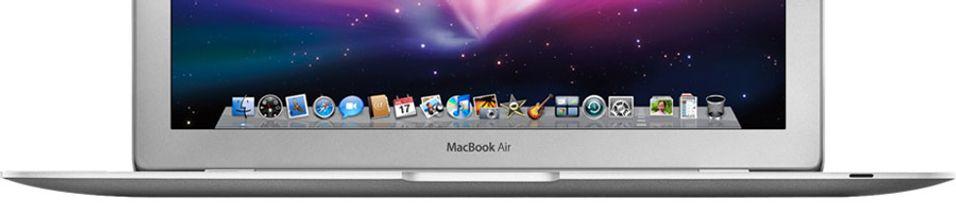 Macbook Air oppgradert