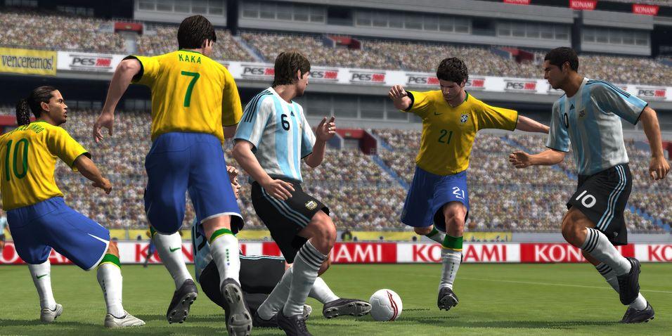 ANMELDELSE: Pro Evolution Soccer 2009