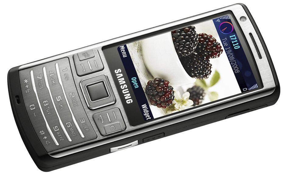 Samsung I7110 er basert på S60-menyer, slik som Nokias smarttelefoner er.
