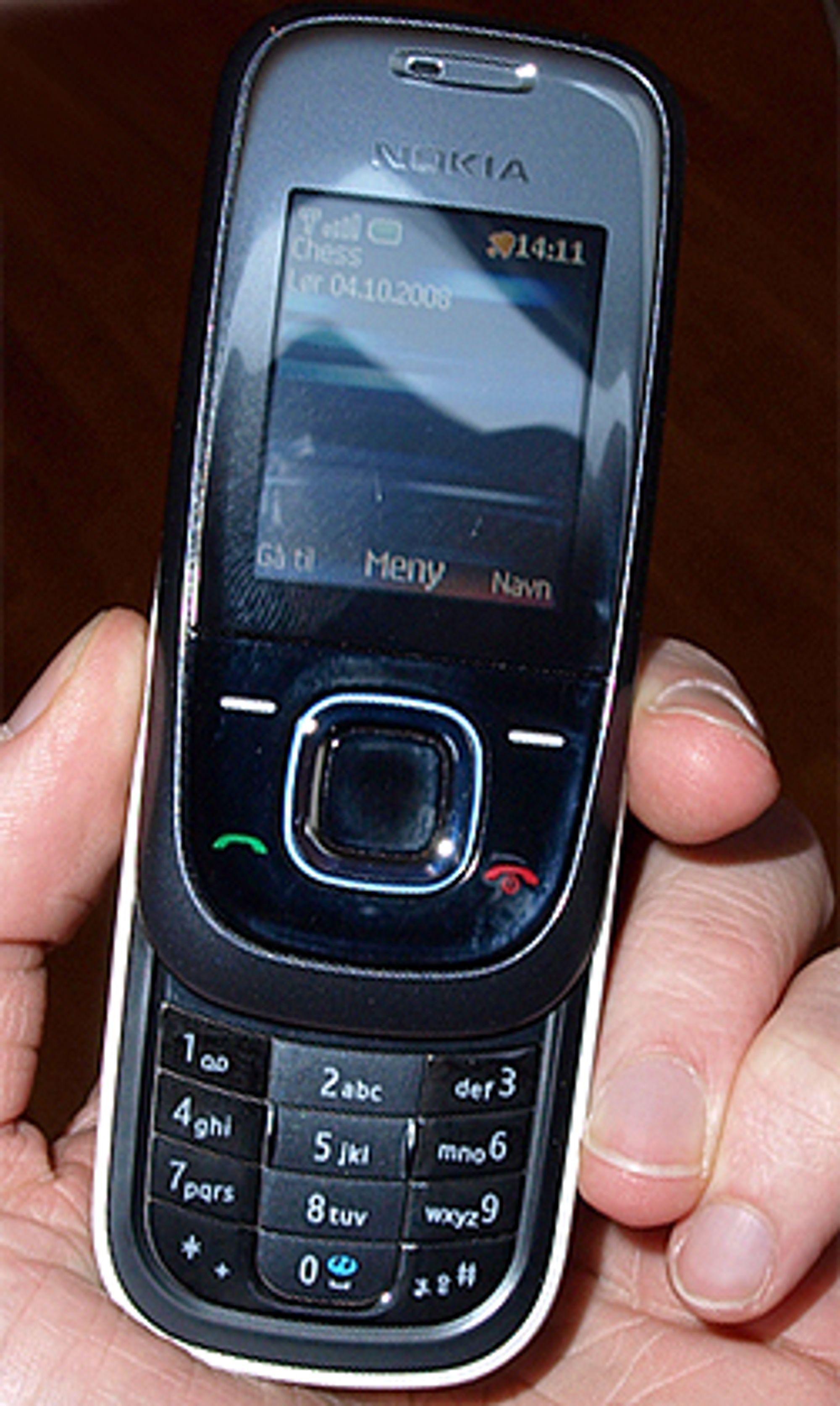Telefonen har en grei mengde ekstrafunksjoner.