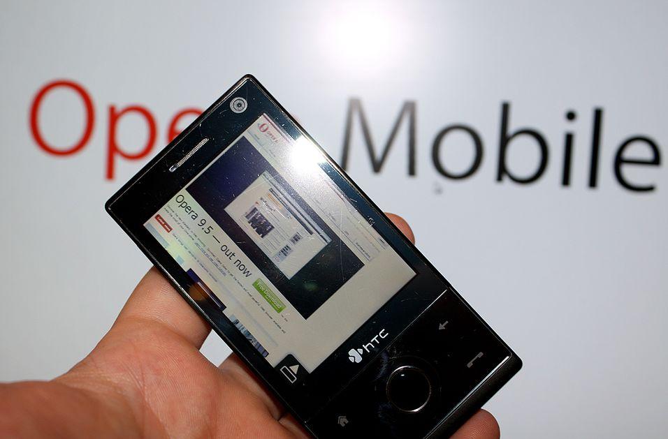 Ny versjon av Opera Mobile 9.5