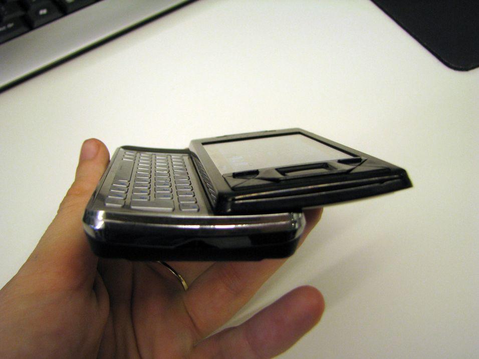 Sjekk hvordan Xperia X1i ser ut inni