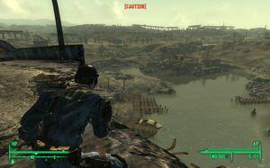 Fallout 3 sluttet brått.
