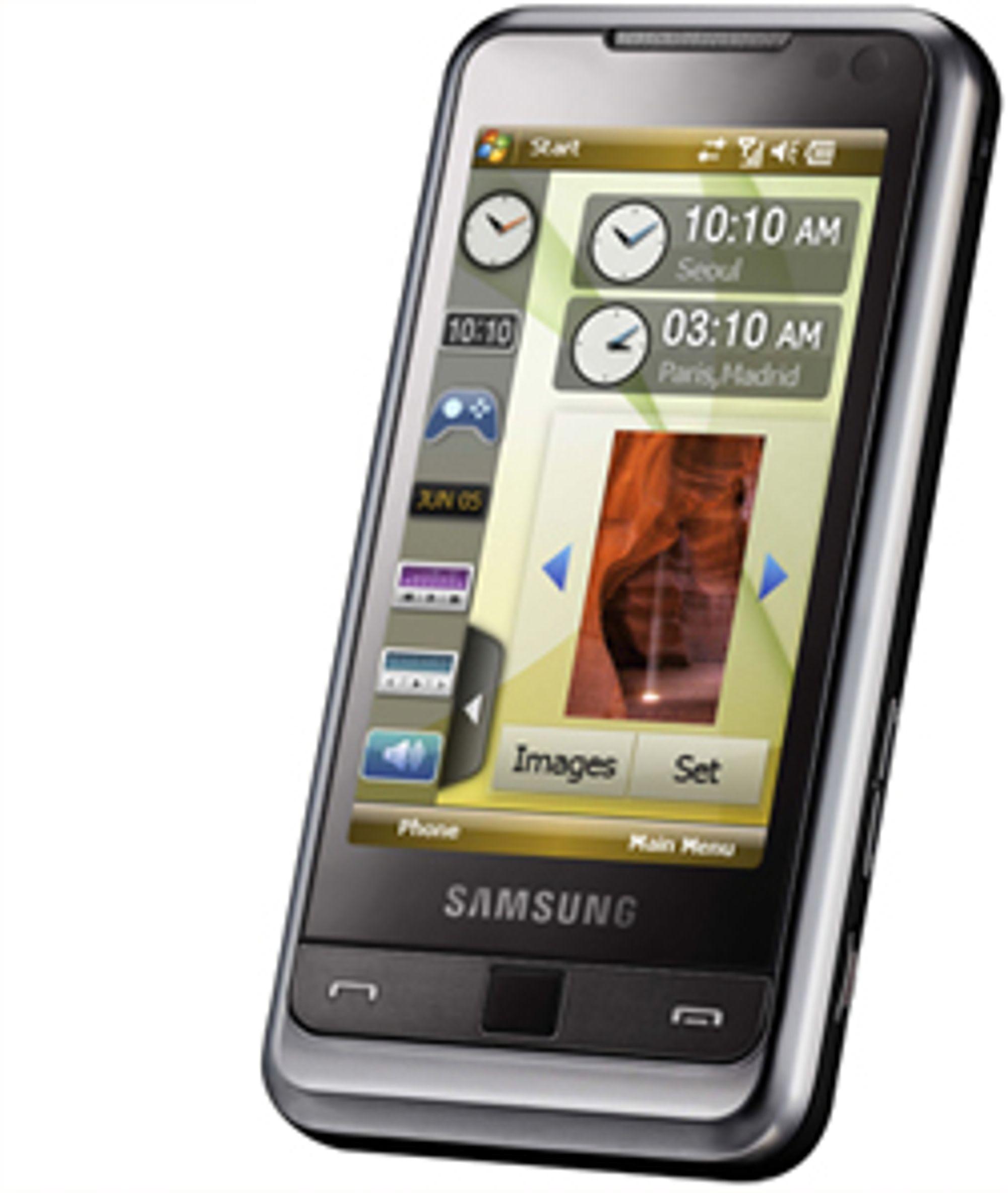 Samsung I900 er en av årets mest spennende Windows-mobiler.