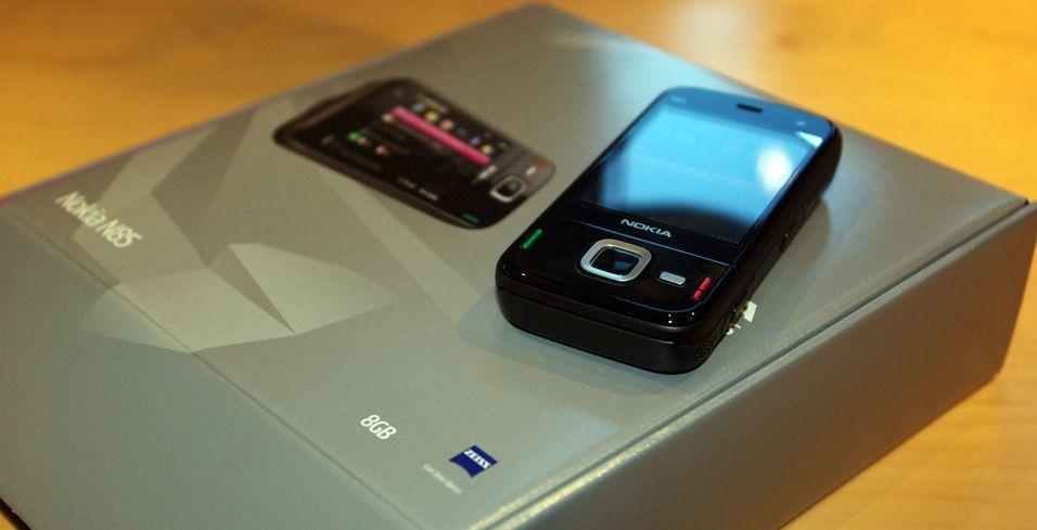Førsteinntrykk: Nokia N85