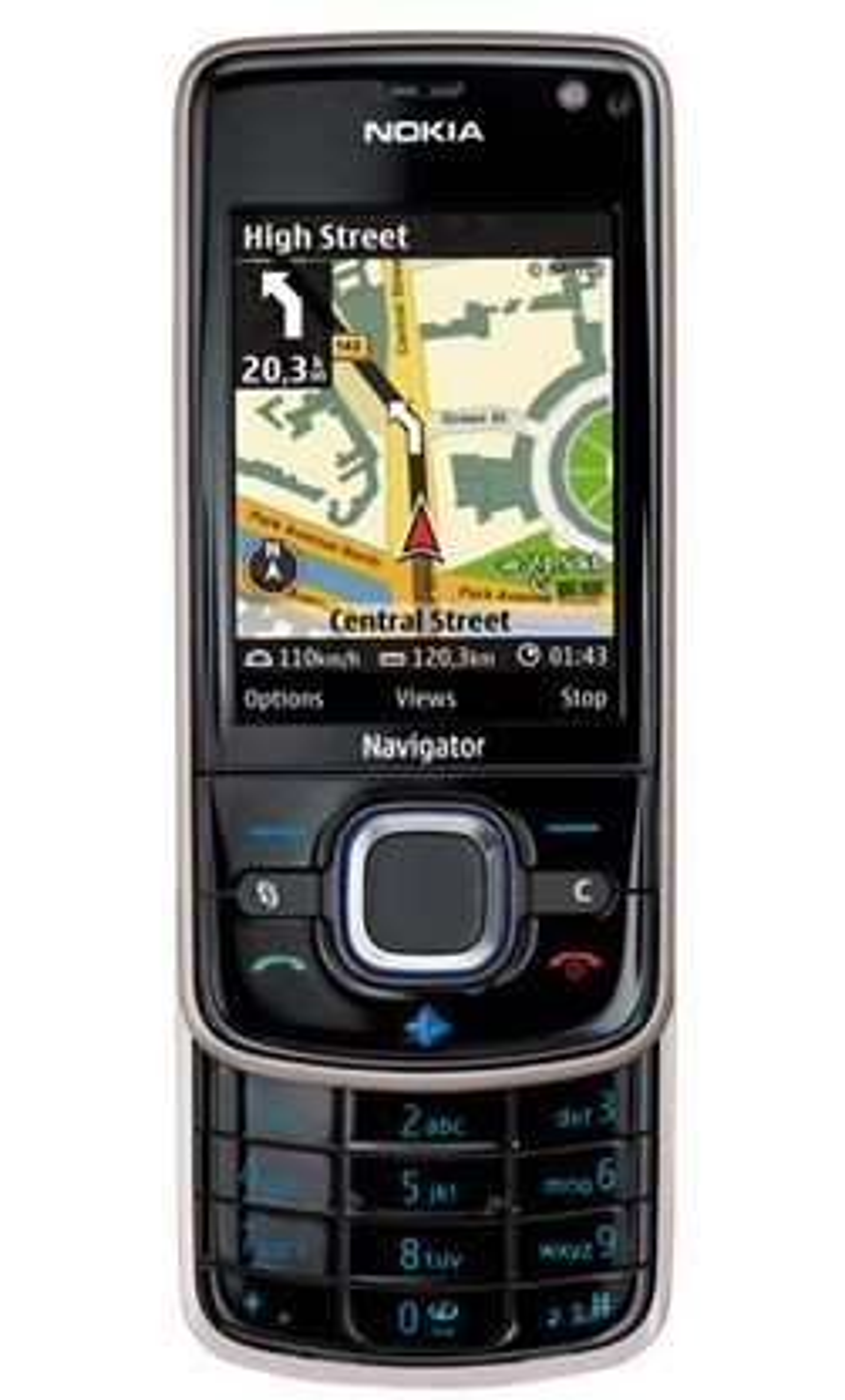 En av Nokias GPS-mobiler, 6210 Navigator.