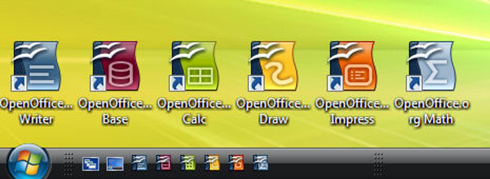 åpne xlsx filer i openoffice