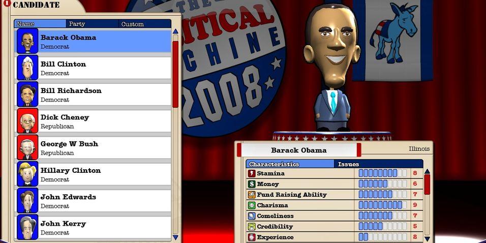 KONKURRANSE: Vinn The Political Machine