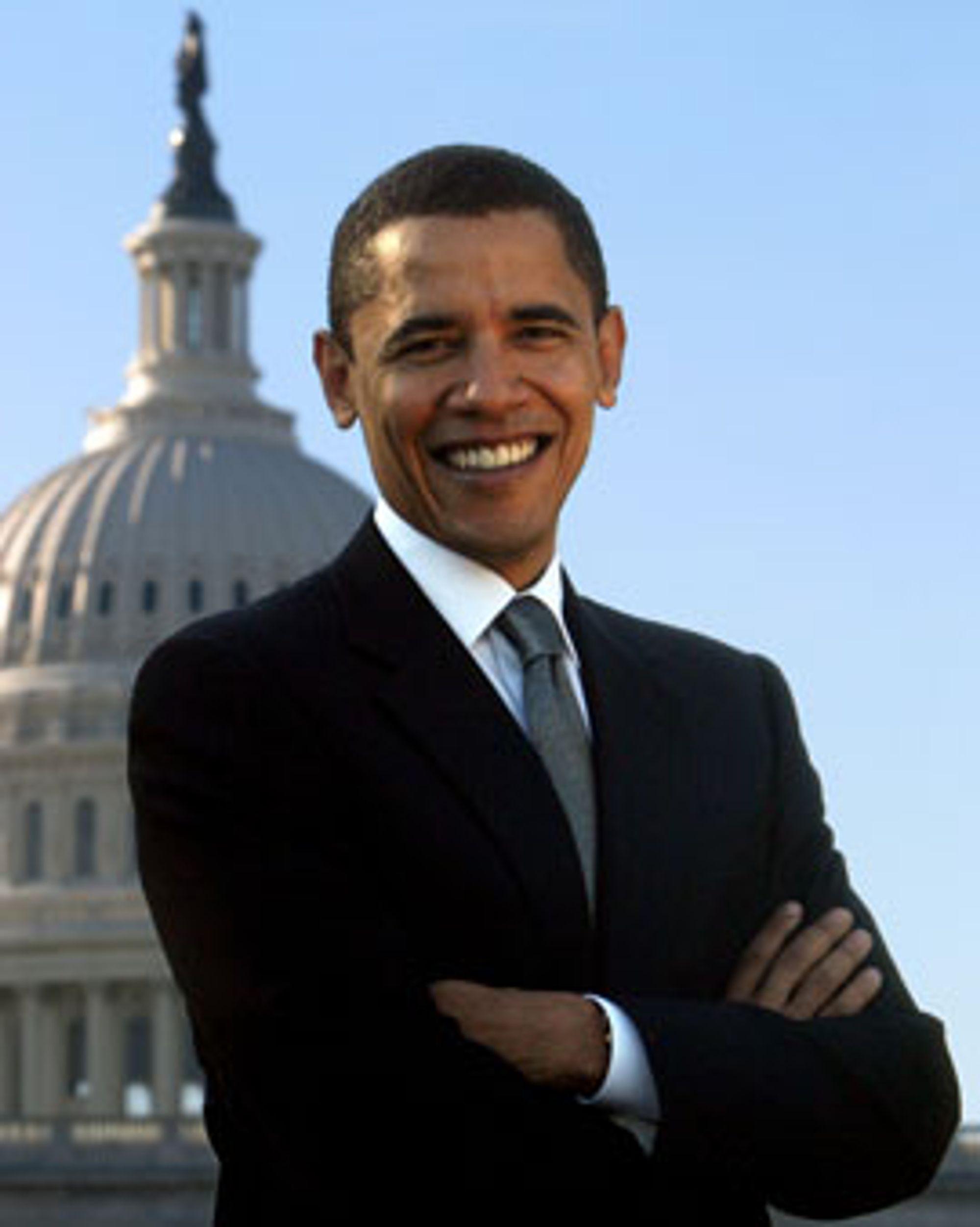 Obama kan smile bredt nå, takk internett!