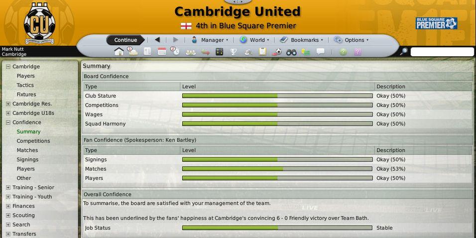 Football Manager-anmeldelse på vent