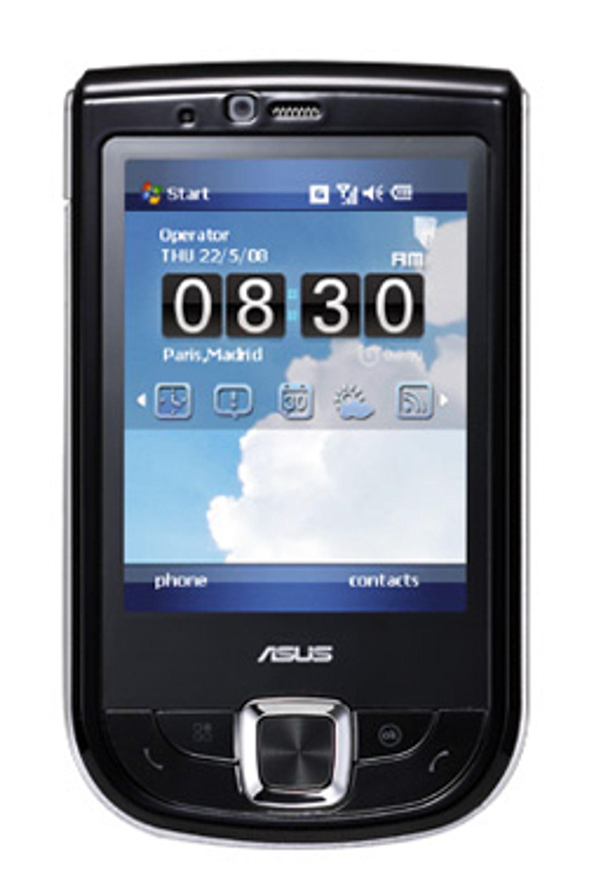 Asus P565 er en Windows-mobil med 800 MHz prosessor.
