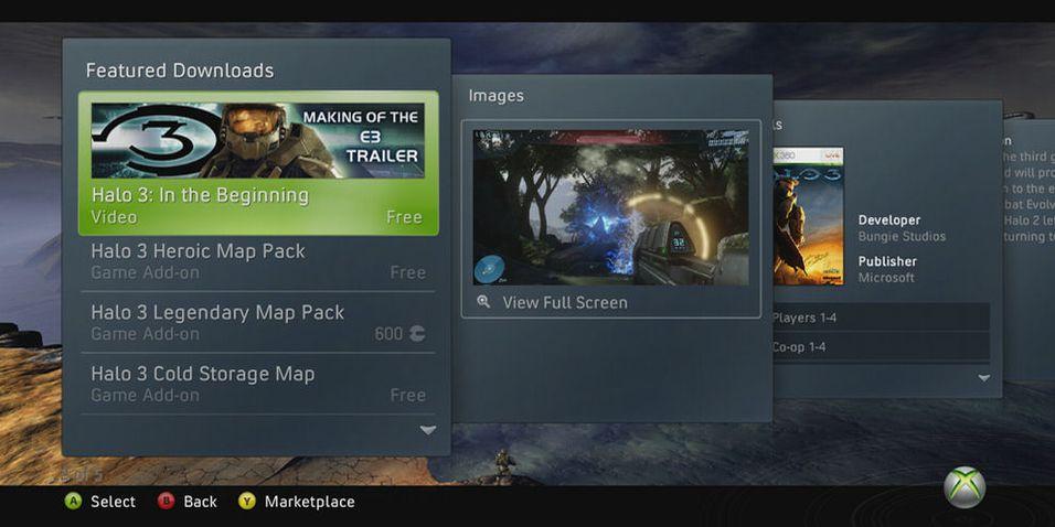 Ansiktsløftning for Xbox 360
