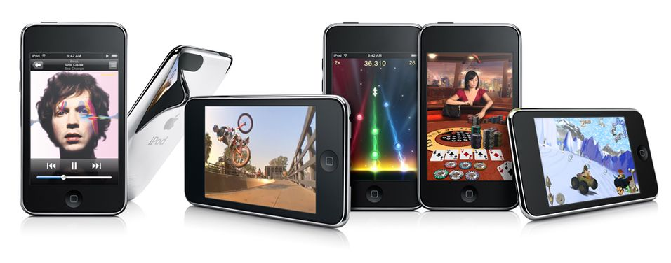 Apple Ipod Touch er en allsidig spiller