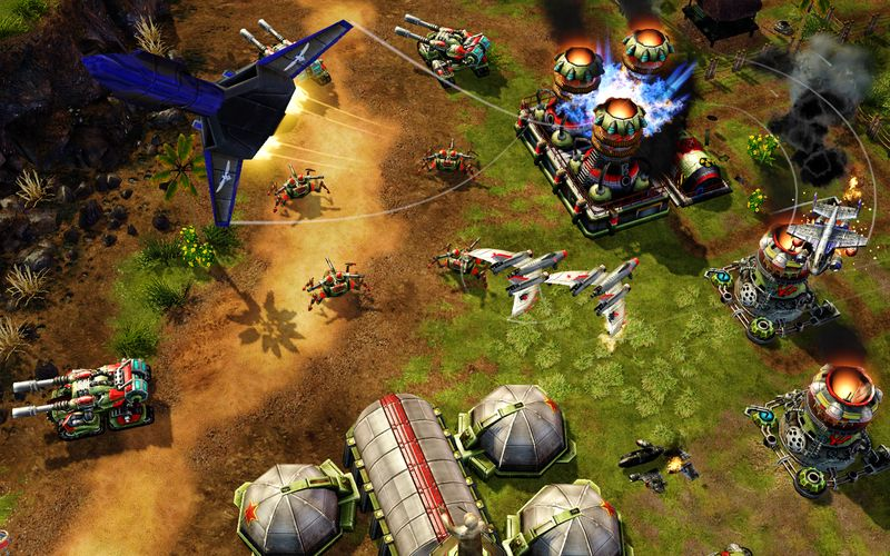 Скриншоты из игры Command & Conquer: Red Alert 3.