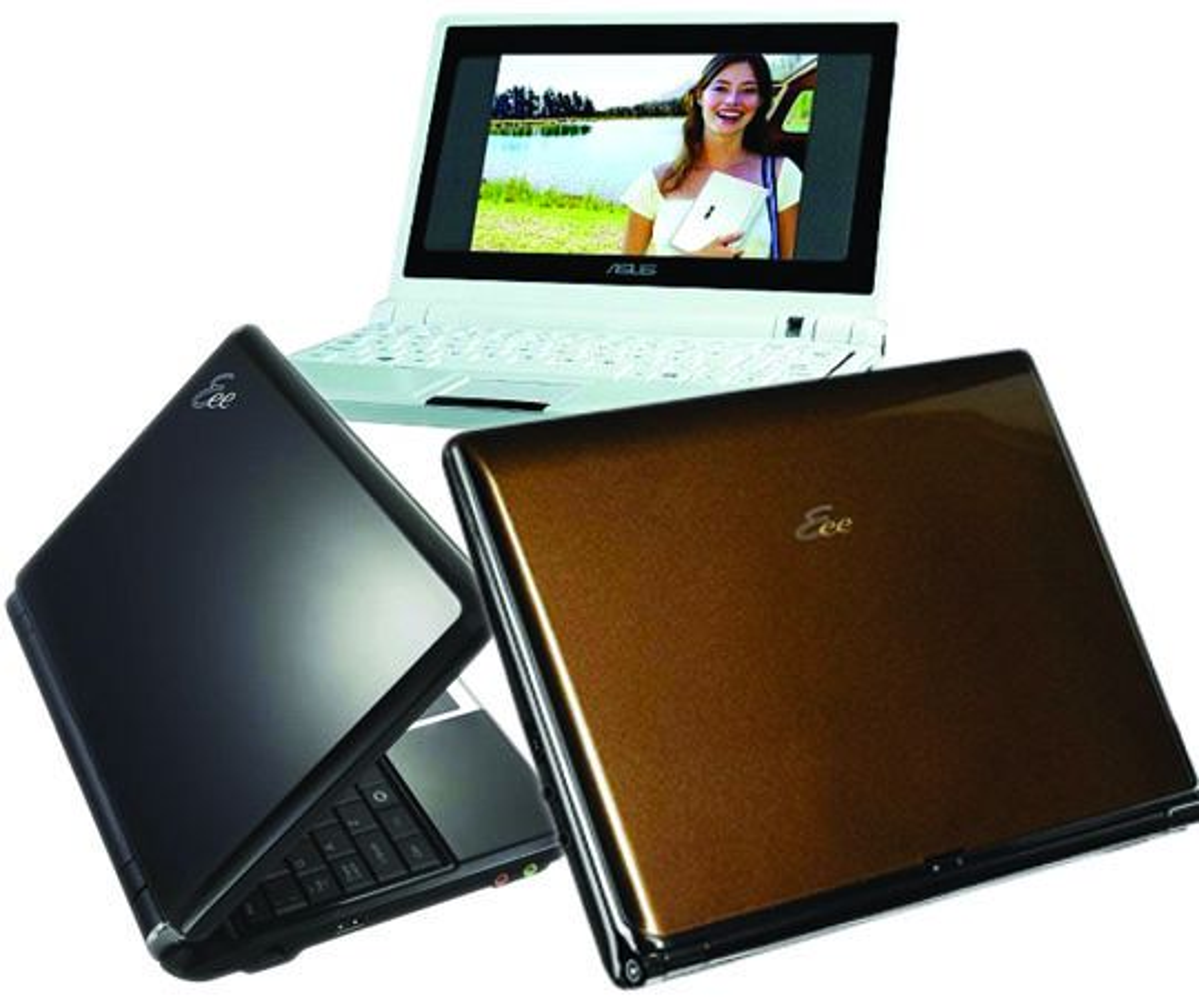 Eee PC 701, 901 og S101 vil leveres med Linux