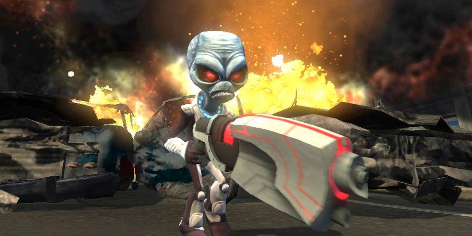 Destroy All Humans likevel til PS3