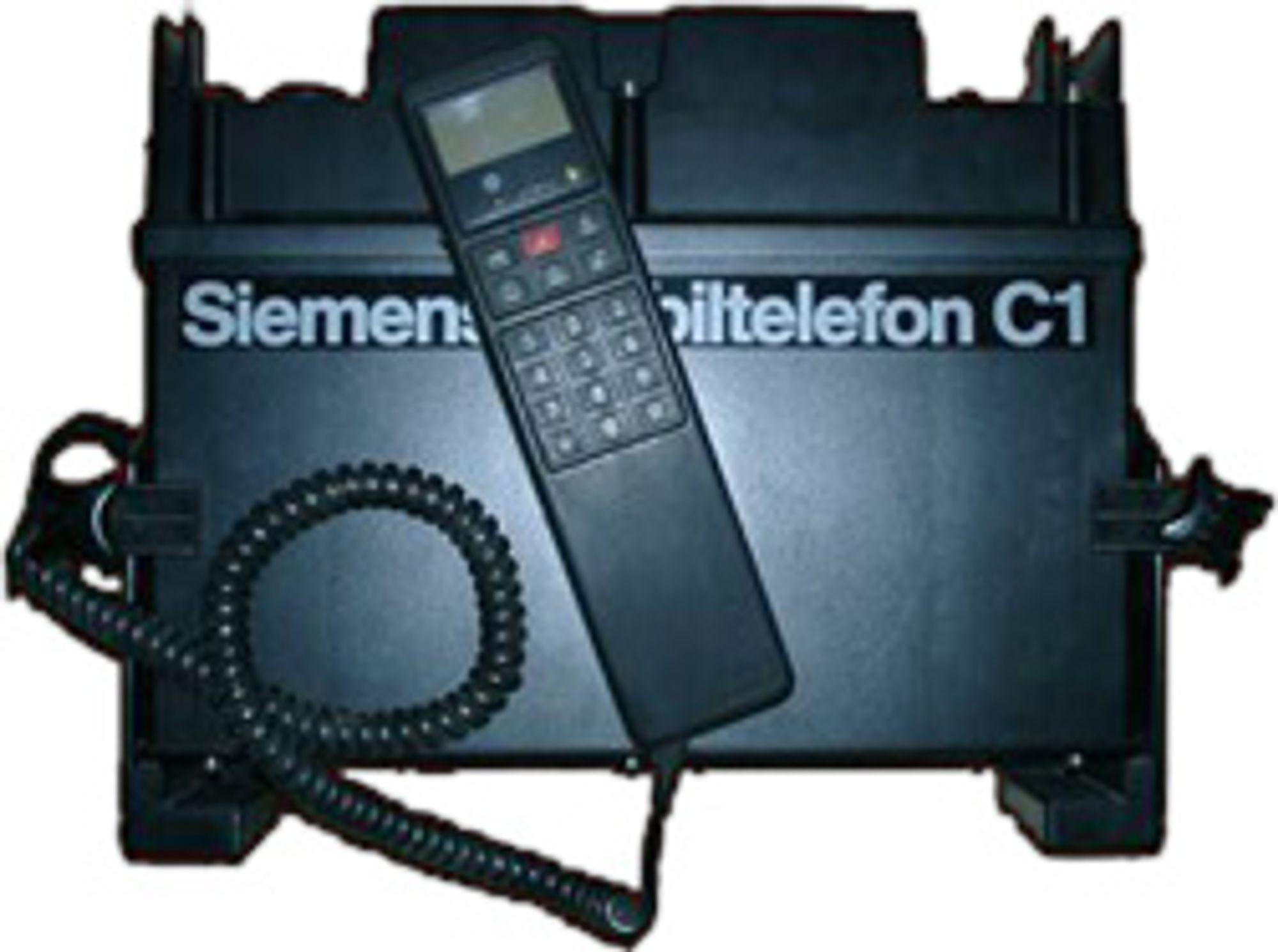 Siemens Mobiltelefon C1 var selskapets første mobiltelefon.