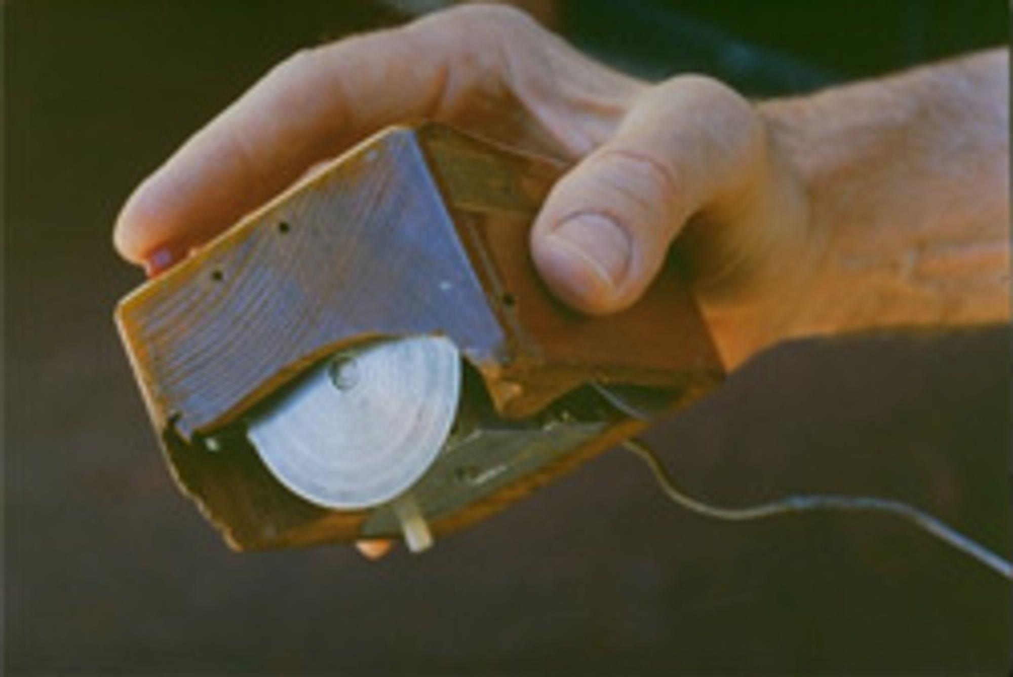 Den første musen. (Foto: Cern Courier)