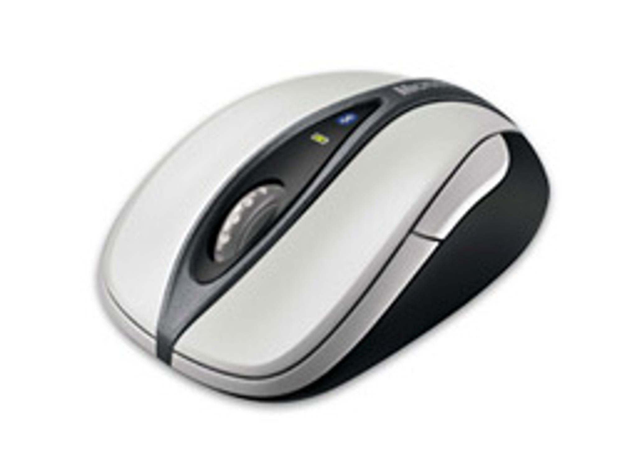 En av dagens moderne mus fra Microsoft. (Foto: Microsoft)