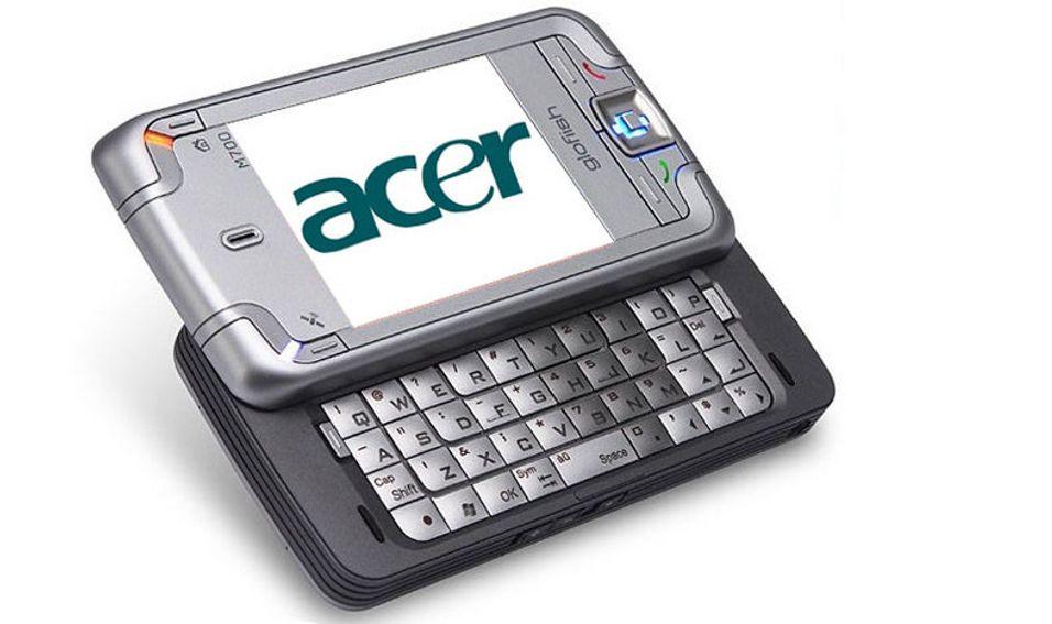 Acer-mobil over nyttår