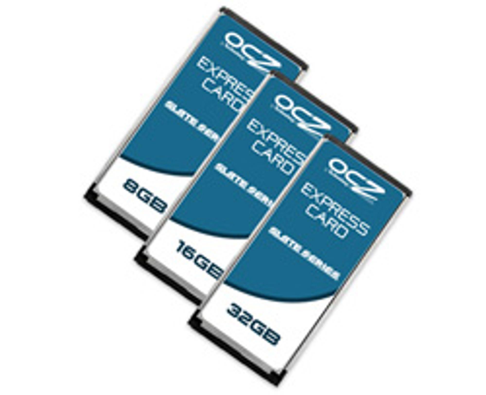 OCZs nye SSD-moduler. (Foto: OCZ)