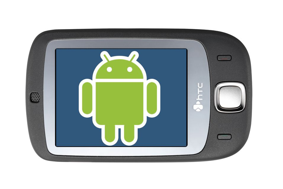 Android kan installeres på HTC Touch.