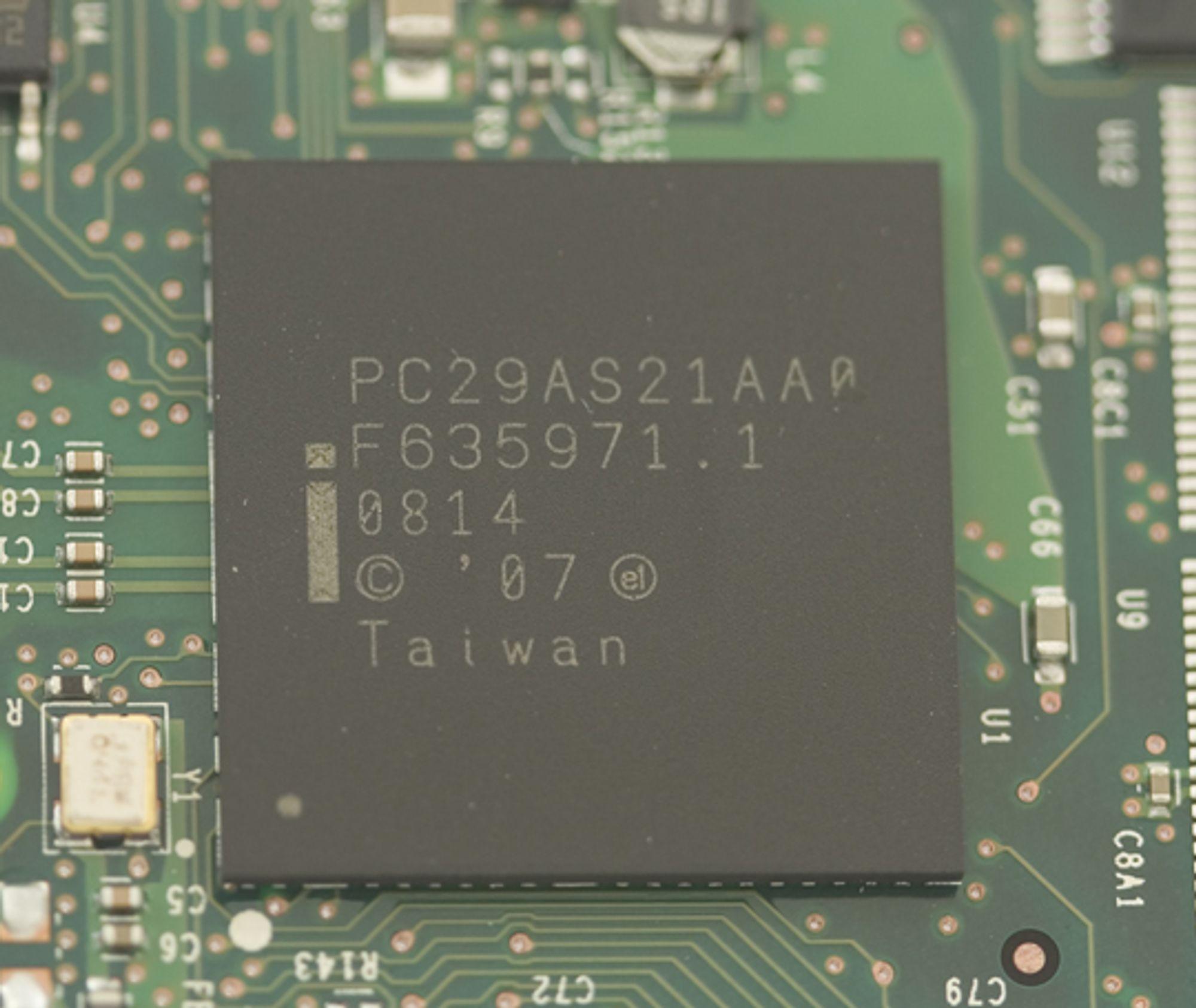 Kontrollenhet fra Intel