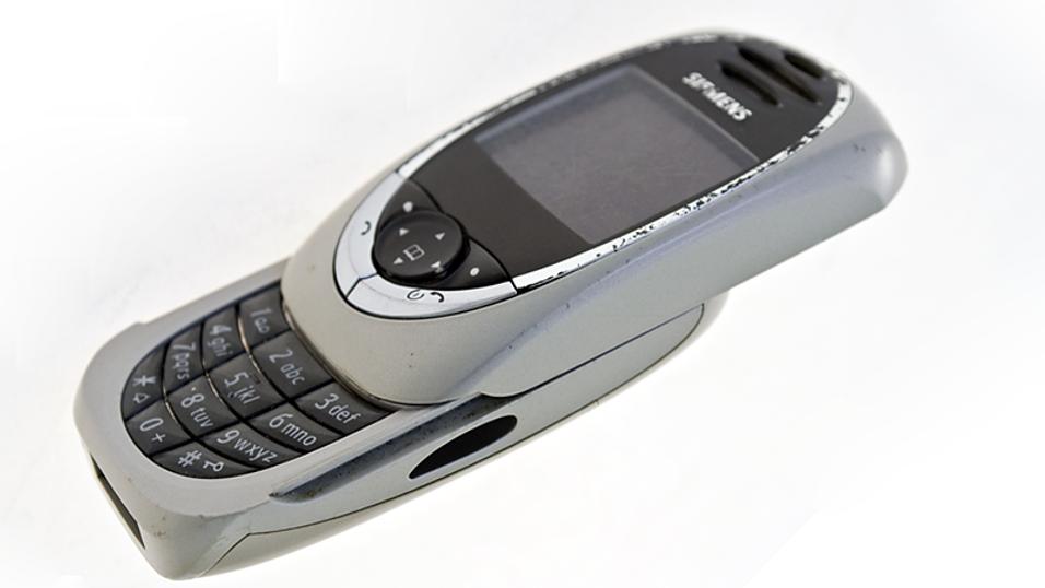 Siemens SL55 var sin tids moteikon på mobilfronten.