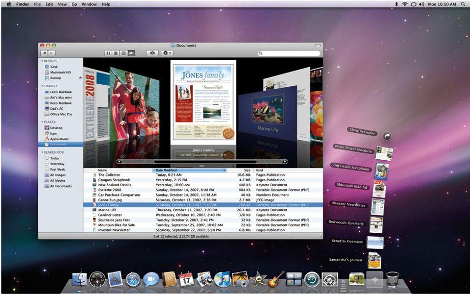 OS X oppgraderes